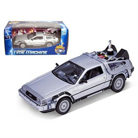 Delorean Time Machine Back to the Future Part II Welly 1/24 Scale Diecast Metal