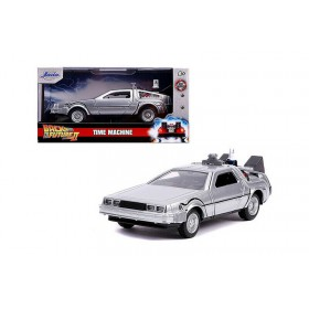 Back To The Future II Time Machine con Luces - Jada 1:24 Hollywood Rides