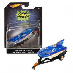 Batman 66 1:50 Classic Tv Series Batboat with trailer