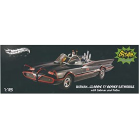 Batmobile 66 1:18 Classic TV Series - Hot Wheels Elite