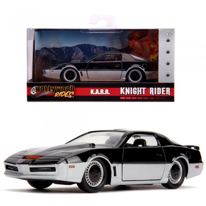 Knight Rider KARR - 1:32 Scale Die-Cast - Hollywood Rides