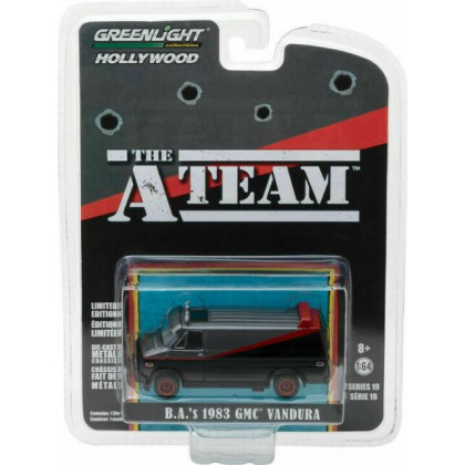 The A Team B.A's 1983 GMC Vandura - Greenlight 1/64 Hollywood