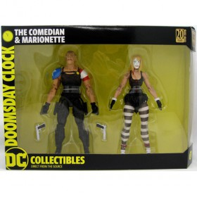 DC COLLECTIBLES DOOMSDAY CLOCK THE COMEDIAN &MARIONETTE