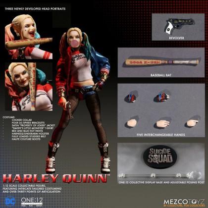 HARLEY QUINN One:12 Collective - MEZCO