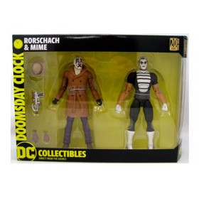 DC Collectibles Doomsday Clock Rorschach & Mime