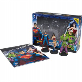 DC Masterpiece Superman, Wonder Woman & Lex Luthor - Eaglemoss