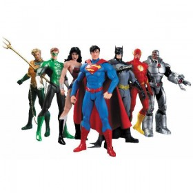 Justice League 7-pack Action Figure: We Can be Heroes The New 52