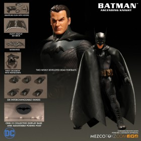 BATMAN ASCENDING KNIGHT - MEZCO ONE:12 COLLECTIVE