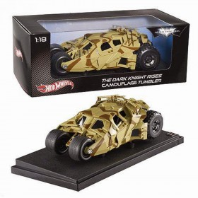 Hot Wheels The Dark Knight Rises Camouflage Tumbler 1:18 Scale Collectors Diecast