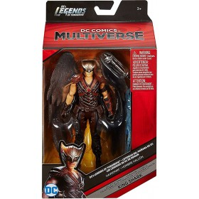 DC Comics Legends of Tomorrow Multiverse King Shark Series Hawkman