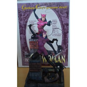 Catwoman Gotham City's Greatest Thief - Estatua DC Collectibles 1997 Frío Fundido