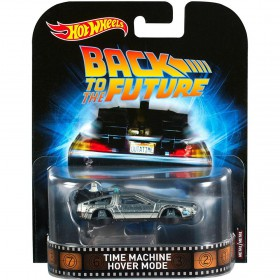 Back to the Future - Time Machine Hover Mode 1:64 Scale