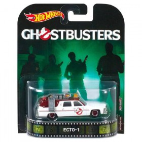 Ghostbusters Ecto-1 Die-Cast 1:64 Scale