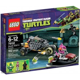 Teenage Mutant Ninja Turtles: Stealth Shell in Pursuit 79102