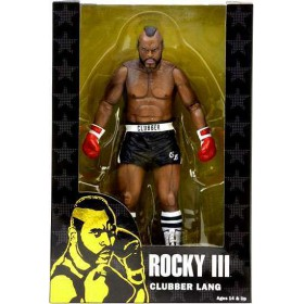 "NECA 40th Anniversary 7"" Scale Series 1 Rocky III - Clubber Lang"