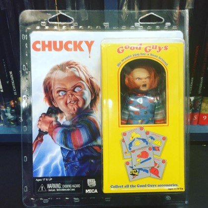 "Child's Play Chucky Clothed 8"" Figure"