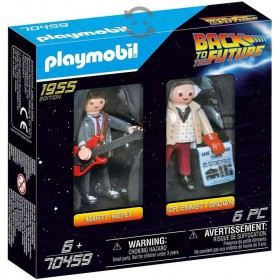 Back to the Future Playmobil 2 Set 1955 edition