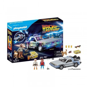 Back to the Future Playmobil Delorean