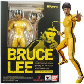 Bruce Lee Yellow Track Suit SH Figuarts