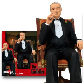 The Godfather Movie Icons - Vito Corleone de 18 cm.