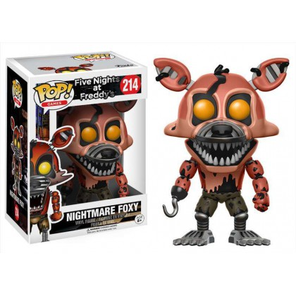 FIVE NIGHTS AT FREDDY´S NIGHTMARE FOXY POP!