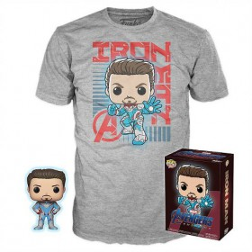 Avengers Endgame - Iron Man Exclusive Pop! + T-Shirt (XL)