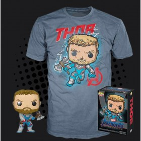 Avengers Endgame - Thor Exclusive Pop! + T-Shirt (XL)