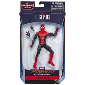 Marvel Legends Build a figure Molten Man Spider-Man