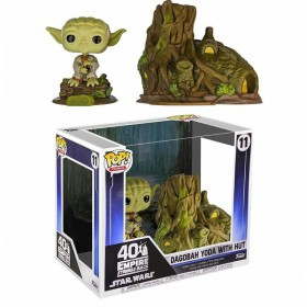 Star Wars The Empire Strikes Back - Dagobah Yoda with Hut