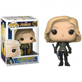 Black Widow Avengers Infinity War Pop!