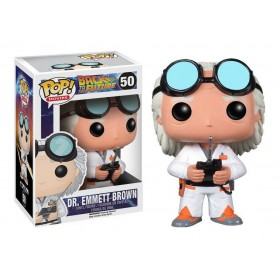 Back to the future Dr. Emmett Brown