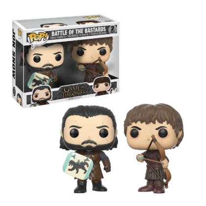 GAME OF THRONES BATTLE OF THE BASTARDS JON SNOW & RAMSAY BOLTON POP!