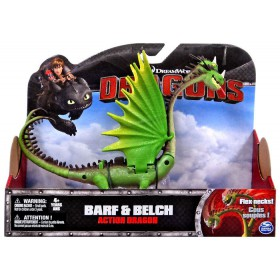 How to Train Your Dragon Dragons - Barf & Belch