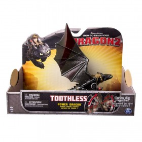 Cómo entrenar a tu Dragon 2 - Toothless Power Dragon (Extreme Wing Flap Action)