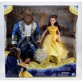 Disney Beauty and the Beast Grand Romance Doll Set - Belle and Beast