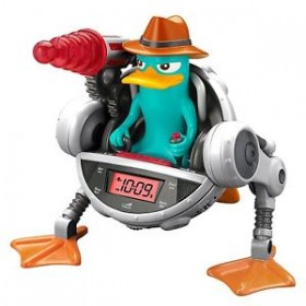 Phineas and Ferb Agent P SNOOZE-INATOR Alarm Clock