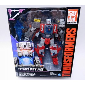 Transformers - Titans Return: Blunderbuss & Broadside