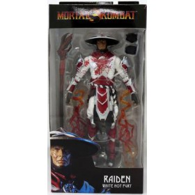 Mortal Kombat Raiden White Hot Fury - Mcfarlane Toys