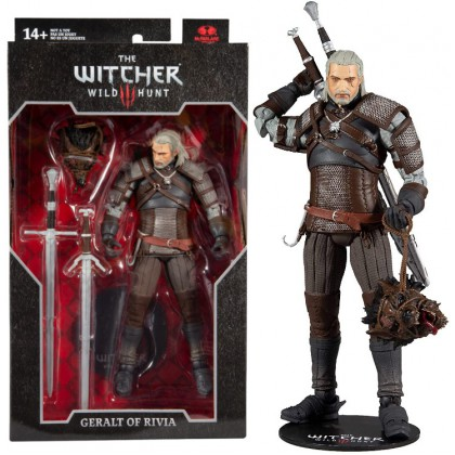 The Witcher Wild Hunt Geralt of Rivia - McFarlane Toys