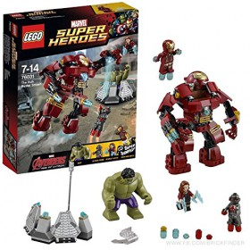 MARVEL: The HulkBuster Smash 76031