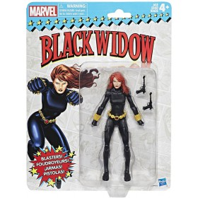 Marvel Legends Super Heroes Vintage (15 cm.) Black Widow