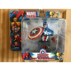 Captain America Bust Paperweight