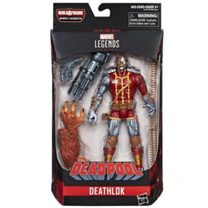 Marvel Legends Deadpool Series Build Marvel's Sasquatch - DEATHLOCK
