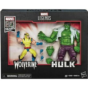 Marvel Legends 80 Years Wolverine Hulk