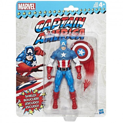 MARVEL LEGENDS SUPER HEROES VINTAGE (15 CM.) CAPTAIN AMERICA