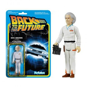 Back to the Future Doc Emmett Brown ReAction 3 3/4-Inch Retro