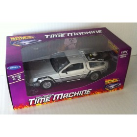 Delorean Time Machine Back To The Future 1 - Welly - 1/24