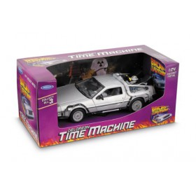 Back to the Future DeLorean Time Machine Die-Cast Vehicle 1:24