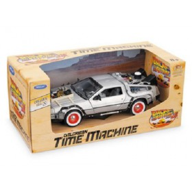 Back to the Future DeLorean III Time Machine Die-Cast Vehicle 1:24