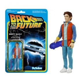 Back to the Future Marty McFly ReAction 3 3/4-Inch Retro